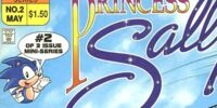 Archie Princess Sally Issue 2
