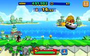 Tropical Coast (Sonic Runners) - Screenshot 1