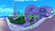 Blue Coast Background 5