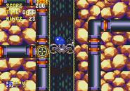 Spin Dashing elevator