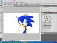 Sonic 3D WIP