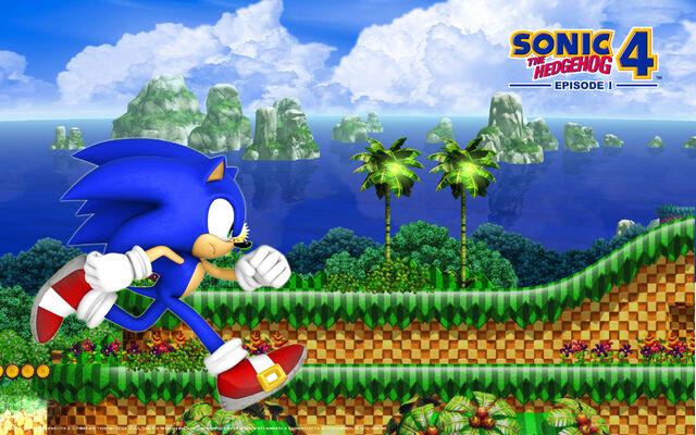 File:Sonic The Hedgehog 4 - Episode 1- Wallpaper - (4).jpg