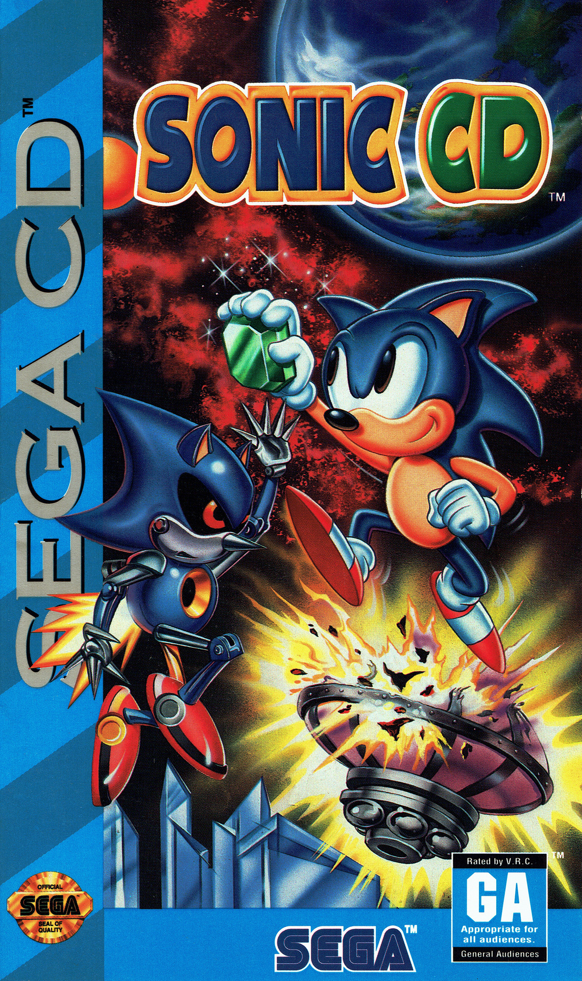 Sonic The Hedgehog Cd Video Game Tv Tropes