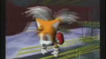 """Japanese Sonic Adventure commercial (Miles """"Tails"""" Prower)"""
