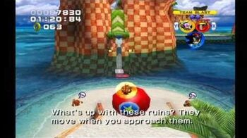 Sonic Heroes Seaside Hill (Team Dark)-0