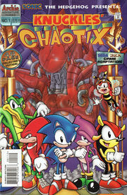 Archie Knuckles' Chaotix Issue 1