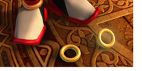 Gold rings (bangle)