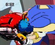 Sonic x motobug