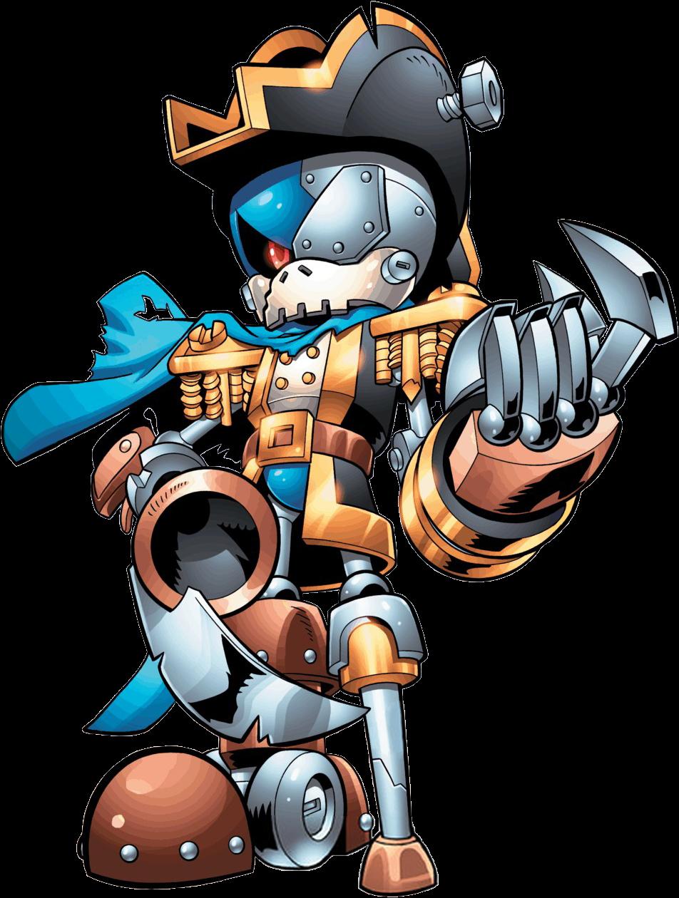 Captain Metal | Sonic News Network | Fandom powered by Wikia