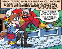Mrs. Vandersnout and Eggman