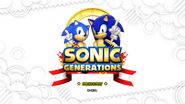 Sonic Generations Title Screen