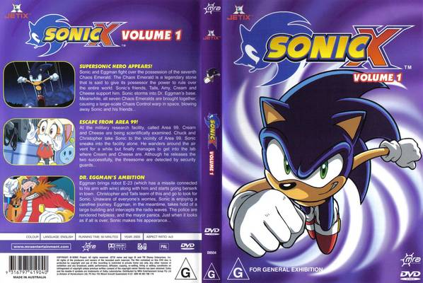 File:Sonic X Volume 1 AUS full front cover.jpg