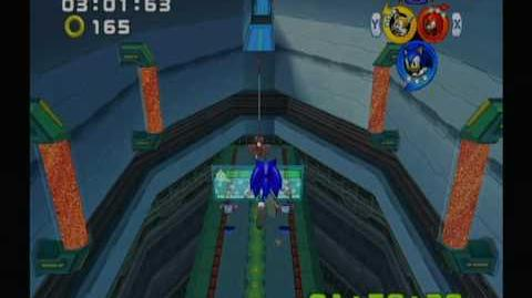 Sonic Heroes (GC) Team Sonic Grand Metropolis Mission 2 A Rank