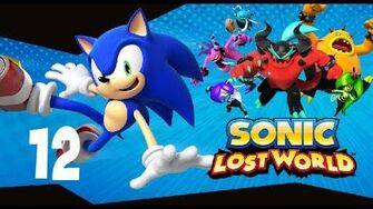 Sonic Lost World Silent Forest Zone 4 (Wii U 1080p) Part 12 and Zor Boss Battle