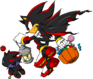 Sonic Channel - Shadow the Hedgehog & Dark Chao 2013
