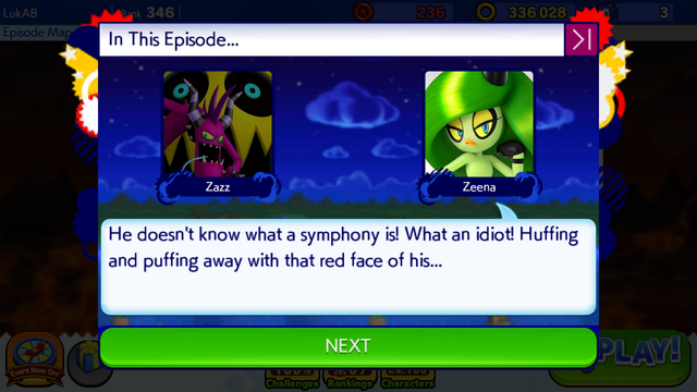 File:Sonic Runners Zazz Raid Event Zeena Zor Cutscene (4).png