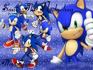 Sonic The Hedgehog Wallpaper FlopiSega