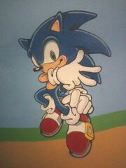 Sonic on my wall