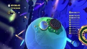 Sonic Lost World - Wii U - Frozen Factory Zone 2 and Zeena Boss Battle