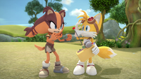 Tails and Sticks brickering