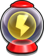 Thunder Shield In Item Box (Sonic Lost World)