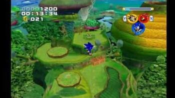 Sonic Heroes Frog Forest (Team Sonic)