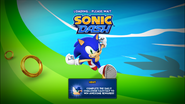Sonic Dash PC loading screen