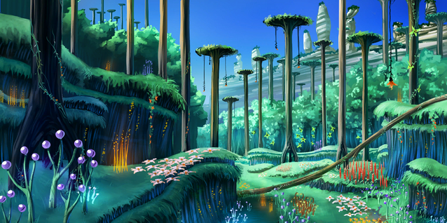 File:Concept artwork - Sonic Generations - Console - 074 - Planet Wisp.png