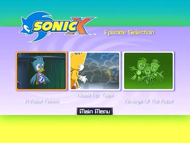 File:Sonic X Volume 10 AUS episode selection.jpg