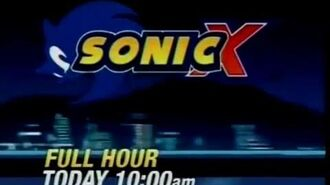 KVCW Ch. 33 - (2010) Sonic X Promo Commercial The Fast, The Fierce