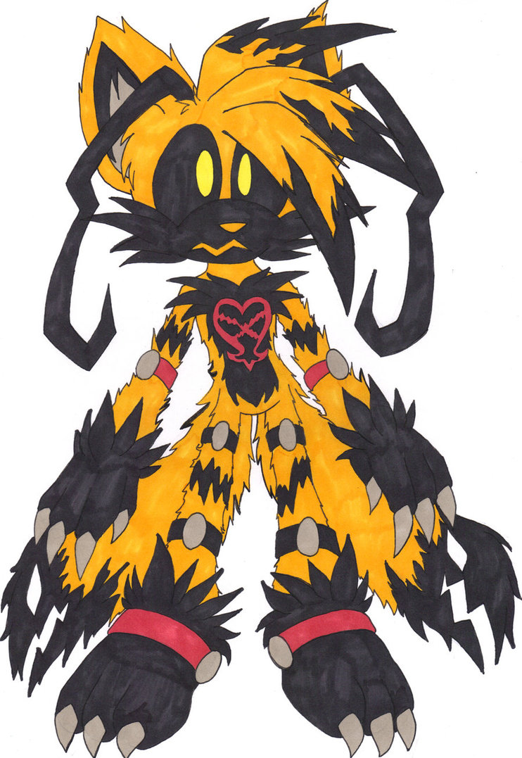 Heartless Sonic Characters FileHeartless tails by c8lin