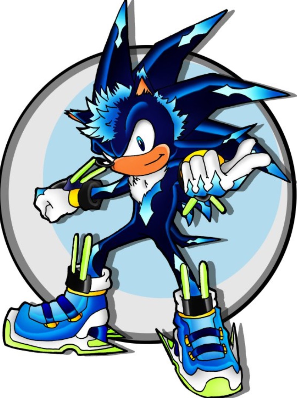 enigma the hedgehog sonic fan characters wiki fandom