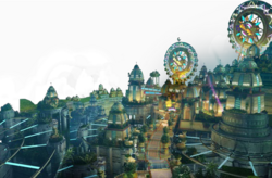 Sonic-Colours-Tropical-Resort-art