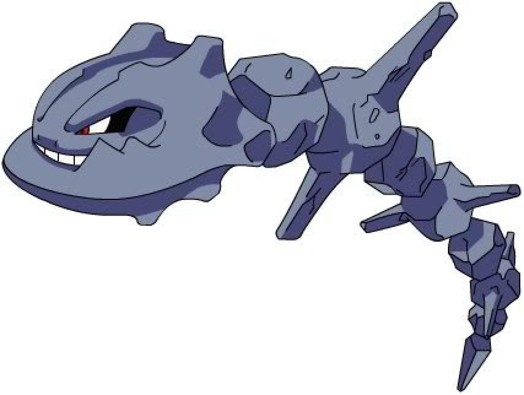 Pokemon Steelix Evolution Steelix