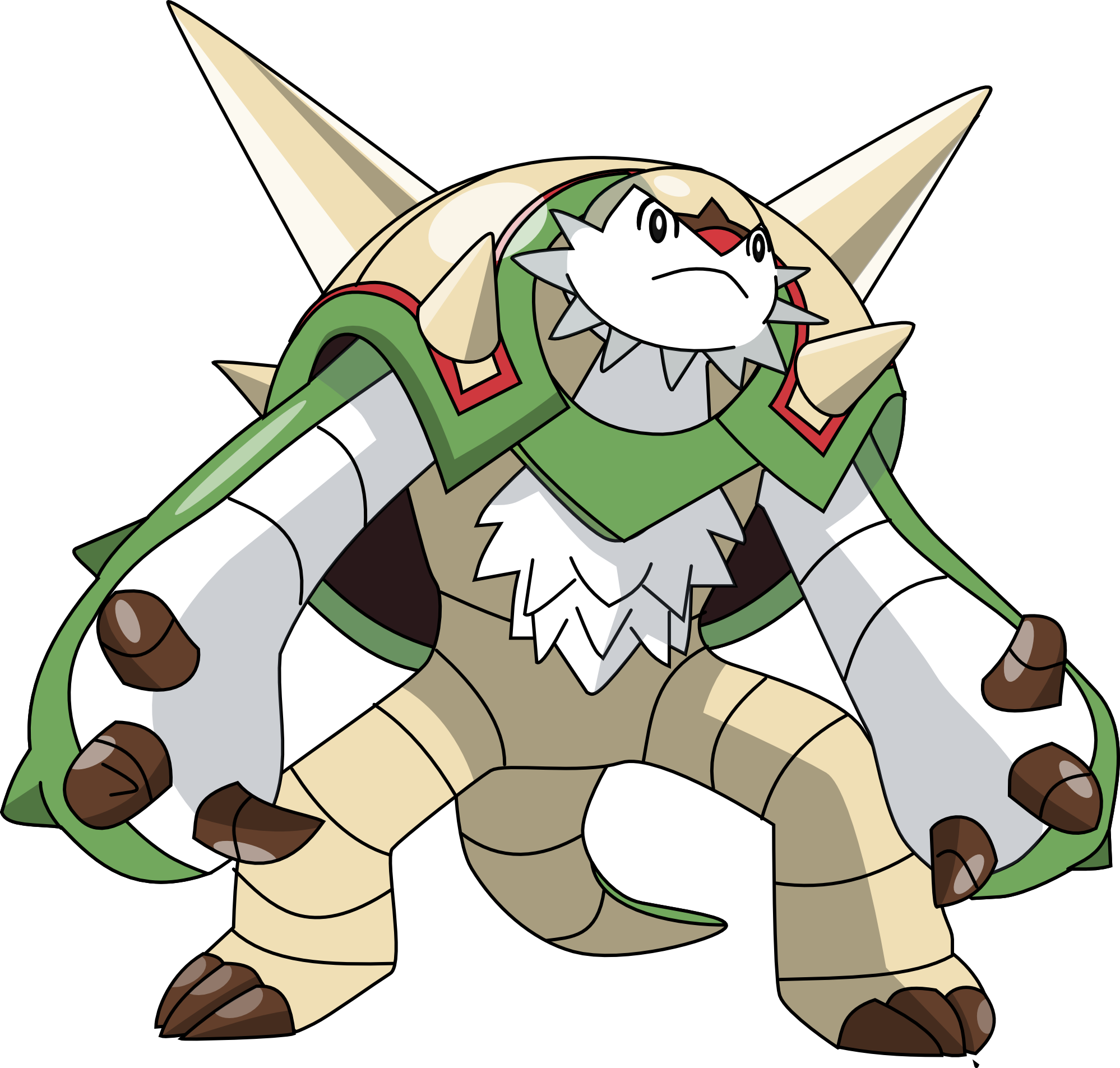 Image - 652 chesnaught by pklucario.png | Sonic Pokémon ...