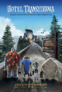 Hotel Transylvania poster 2012
