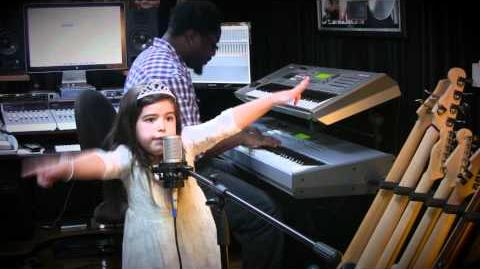 "Sophia Grace Brownlee Singing Nicki Minaj's ""Moment 4 Life"" at DMP Studio! (Dapo Torimiro on keys)"