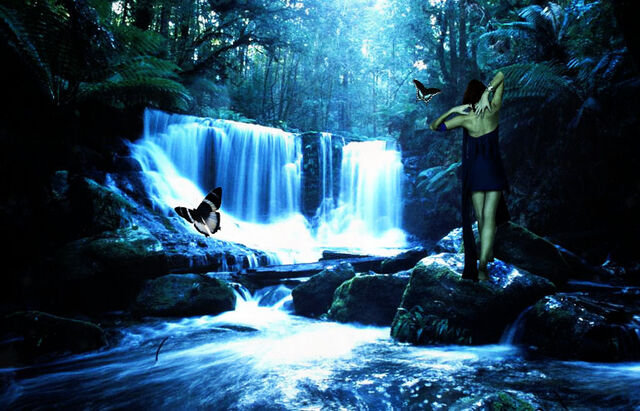 File:Enchanted waterfall.jpg