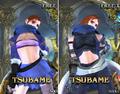 Tsubame SC3 costumes