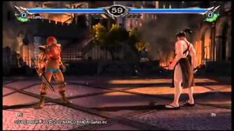 SOULCALIBUR V Samus Gameplay 6