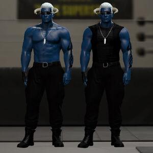 Demon Sanya WWE2K16 03