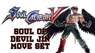 Soul Calibur V 'Soul of Devil Jin Move Set'