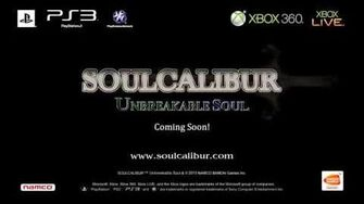 SOULCALIBUR Unbreakable Soul Trailer - Don't Worry!