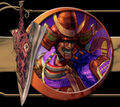 Yoshimitsu-screen Soulcalibur II