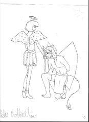 Seres and Kyou art