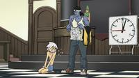 Soul Eater Episode 14 - Sid strips Soul