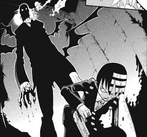 Chapter 53 - Mosquito standing over Kid menancingly