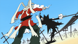 Soul Eater Episode 48 HD - Lord Death battles Asura (37)