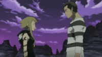 Soul Eater Episode 13 HD - Free and Medusa talk