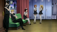 Soul Eater NOT Episode 2 - Deathbucks locker room